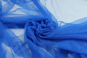 Soft Nylon Tulle - Electric Blue - T16