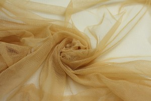 Soft Nylon Tulle - Gold - T28