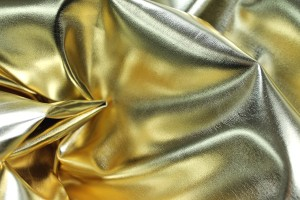 Leatherette - Metallic High Gloss Gold