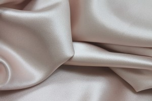 Silk Satin Backed Crepe - Pale Pink