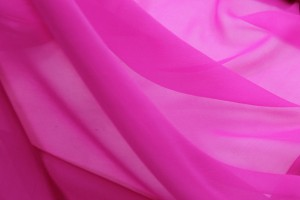Fuchsia Silk Georgette - 110cm wide