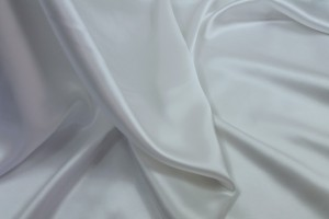White Silk Satin - 112cm wide