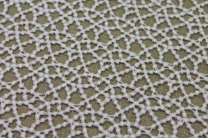 Guipure Lace - Dot Pattern - Ivory