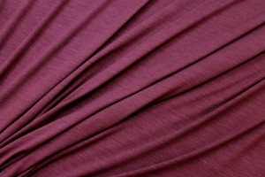 Soft Viscose Jersey - Wine