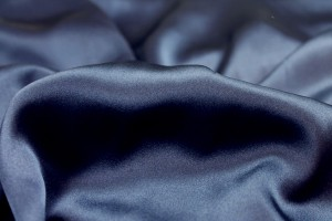 Navy Silk Satin - 140cm wide