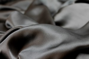 Grey Silk Satin - 140cm wide