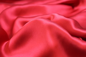 Red Silk Satin - 140cm wide