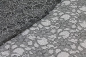Corded Lace - Grey
