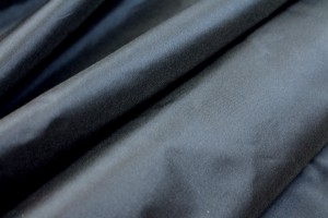 Silk Taffeta - Navy shot Charcoal