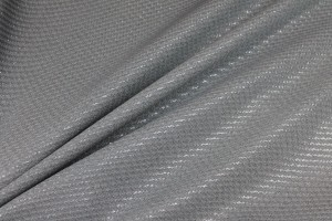 Drapey Metallic Texture Brocade - Grey