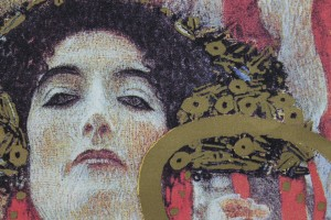 "Art Print on Cotton Drill - Gustav Klimt ""Igea"""