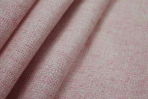 Wool Suiting - Pink and Ivory