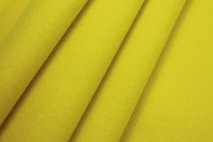 Wool Coating - Bright Yellow