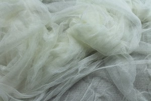 Soft Silk Tulle - Deep Ivory