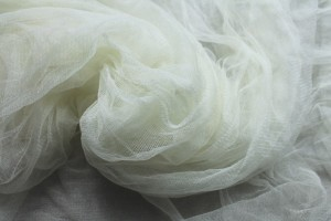 Soft Silk Tulle - Pale Ivory