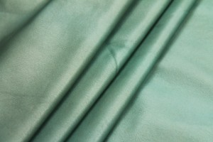 Stretchy Soft Leatherette - Oxidised Green Gold