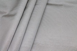 Cotton Viscose Grosgrain - Silver