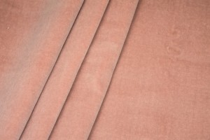 Heavy Cotton Velvet - Ballet Pink