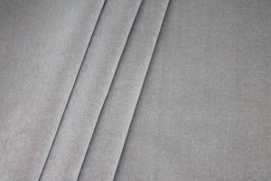 Heavy Cotton Velvet - Silver Grey