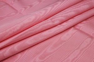 Cotton Viscose Grosgrain - Pink Moiré
