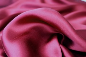 Wine Red Silk Satin - 140cm wide