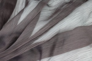 Distressed Silk Cotton - Brown