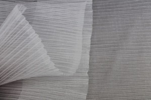 Pleated Crin - Ivory