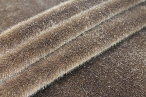 Faux Fur - Short Pile Milk Chocolate Brown