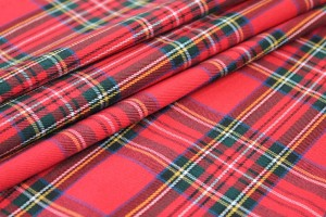 Wool Tartan - Classic Red, Blue, Green, Yellow, Black
