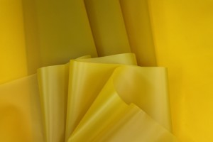 Yellow Semi Transparent PVC