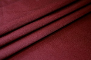Stretch Wool Venetian - Burgundy