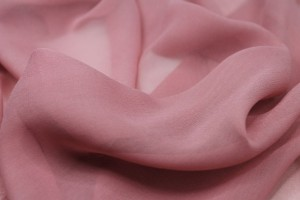 Old Rose Silk Georgette - 110cm wide