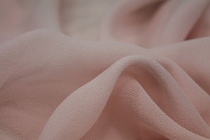 Pale Pink Silk Georgette - 135cm wide