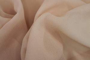 Powder Pink Silk Georgette - 135cm wide