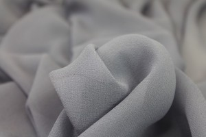 Dusty Lilac Silk Georgette - 135cm wide