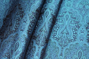 Banaras Brocade - Blue and Turquoise