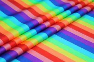 Rainbow Stripe Lycra
