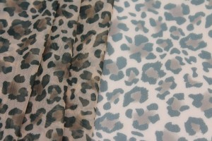 Leopard Print Sheer Bodystocking