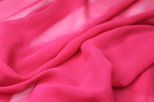 Raspberry Silk Georgette - 135cm wide
