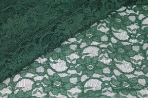 Corded Lace - Forest Green