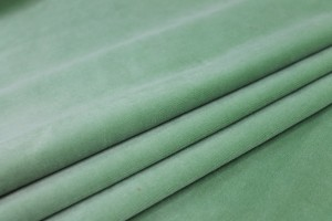 Heavy Cotton Velvet - Mint