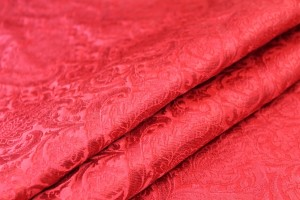 Heavy Banaras Brocade - Red on Red