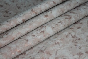 Mottled Matte Leatherette - Blush