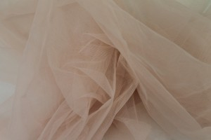 Stretch Illusion Tulle - Blush