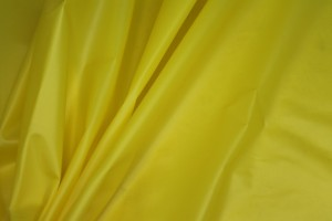 Bright Yellow Semi Transparent PVC