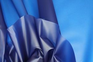 Royal Blue Semi Transparent PVC