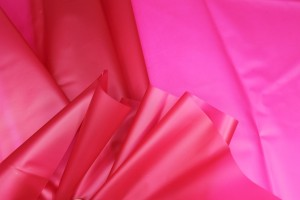 Magenta Semi Transparent PVC