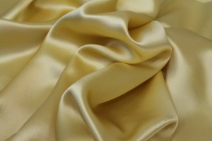Primrose Yellow Silk Satin - 140cm wide