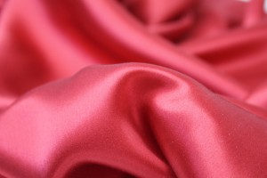 Strawberry Red Silk Satin - 140cm wide