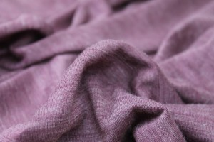 Soft Wool Mix Jersey - Heather